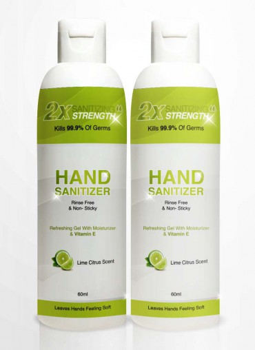 Hand Sanitizer - 2 bottles